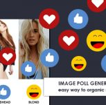 Getting organic traffic with voting poll images on Facebook